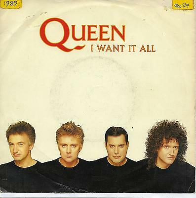 """Queen - I Want It All - 7"""" Single"""