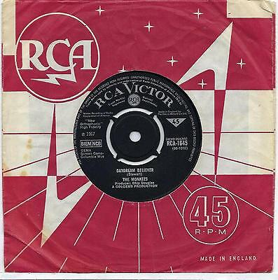 "The Monkees - Daydream Believer - 7"" Single"