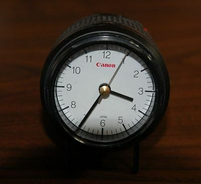Canon Clock Look Like Zoom EF 35-80mm Lens  Arabic Numerals Second Hand