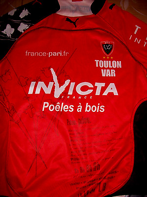 Maillot Rugby Rct Toulon  Taille L
