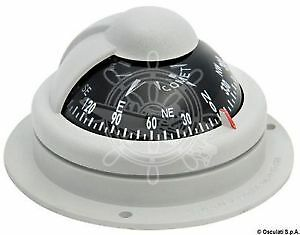 "RIVIERA Comet Boat Marine Compass 2"" Grey Surface Mount"