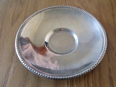 Small Silver Plated Dish 14cm Diameter