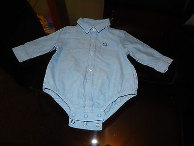 Baby Boys Long Sleeved Shirt By Next - Size 3/6 Months