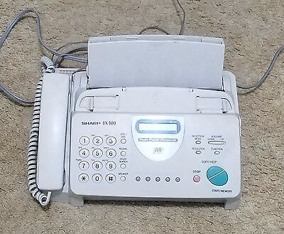 Sharp UX-300 Fax Machine