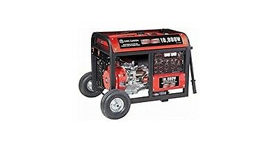 King Canada KCG-10000GE 10000W Gasoline Generator with Electric Start and Wheel
