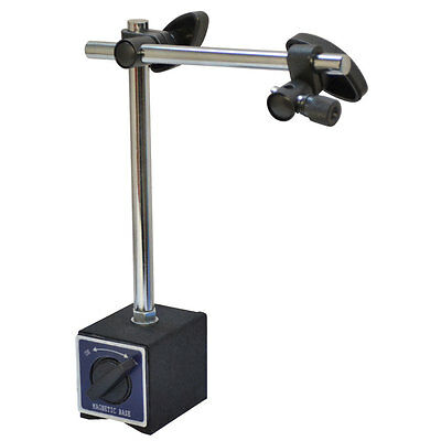 Dial Indicator Holder Magnetic Base 170 Lbs Capacity On/OFF Fine Adjustment