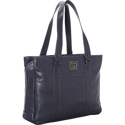 "Kenneth Cole Reaction Hit A Triple Laptop Tote - 17"" - Women's Business Bag NEW"