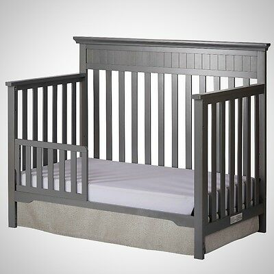 Dream On Me Universal Convertible Crib Toddler Guard Rail Newborn Baby Infant