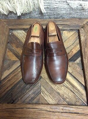 Magnanni Men's Loafers Color Brown Size 10 M