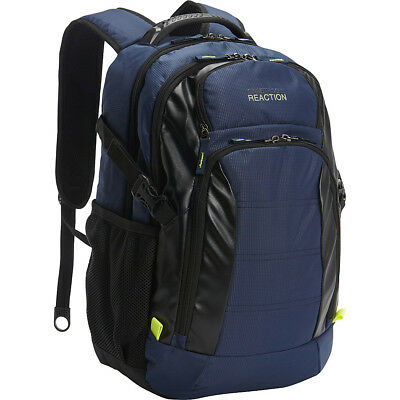 Kenneth Cole Reaction Moving Pack-Wards Computer Business & Laptop Backpack NEW