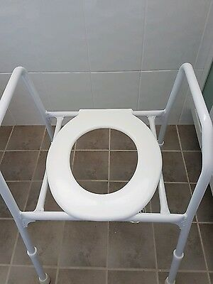 Mobility over toilet seat
