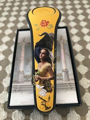 Disney World Beauty And The Beast Limited Edition Magic Band 2 Yellow Sold Out