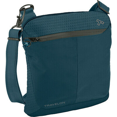 Travelon Anti-Theft Active Small Crossbody Bag 4 Colors Cross-Body Bag NEW