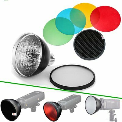 Godox AD-S2 Stardard Reflector + AD-S11 Color Filter Grid For AD200 AD360 II