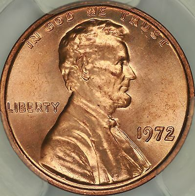1972 Doubled Die Obverse Lincoln Cent PCGS MS66RD