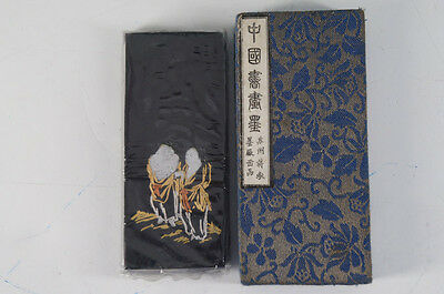 NEW Chinese Vintage Ink Stone Calligraphy Tool w/box Free Shipping 513k25