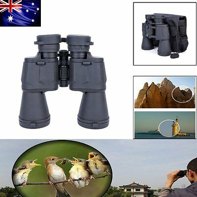 10 X 50 Binoculars Telescope Handheld Waterproof Outdoor Hiking Camping Hunting