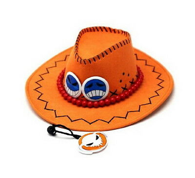 One piece Portgas D Ace Cosplay Hat Cap Costume Hot