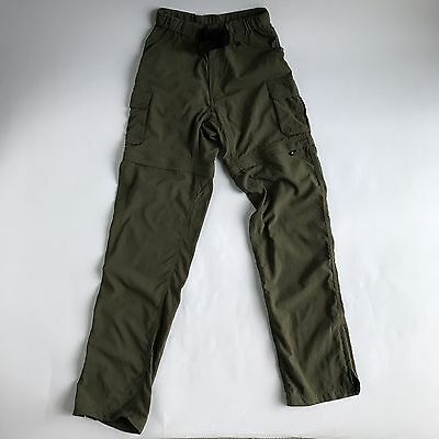 BOY SCOUTS OF AMERICA Switchback Uniform Pant Womens Size 33 Small Green EE