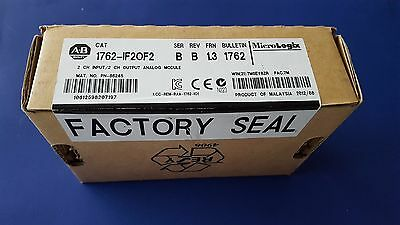 Allen Bradley Micrologix 1762-IF2OF2  Analog  Input/Output Module Seal in Box