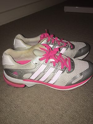 Womens Adidas Sneakers Pink & White Size 7.5US
