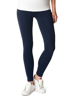 NEW - Esprit - Over Bump Maternity Leggings in Night Blue