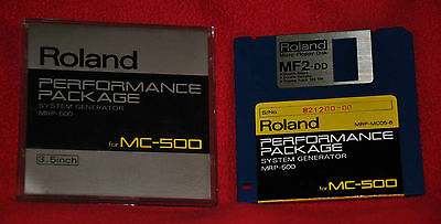 Roland MC-500 MRP-500 Performance Package System Generator w/clean Owners Manual