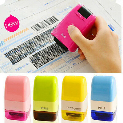 Guard Your ID Roller Stamp SelfInking Stamp Messy Code Security Office School