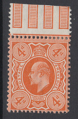 SG 286 4d  Deep Bright Orange M27 (2) very fine and fresh lightly mounted mint.