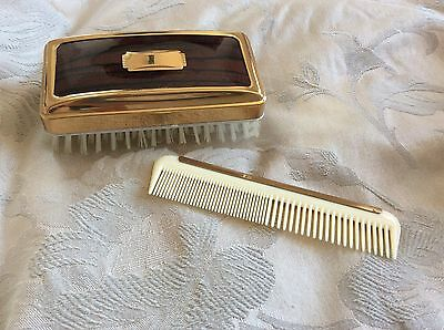 Vintage Clothes Brush and Comb