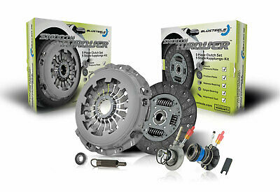 Blusteele Clutch Kit for Mercedes Benz C200 Kompressor S203 1.8 SCMPFI M271.940