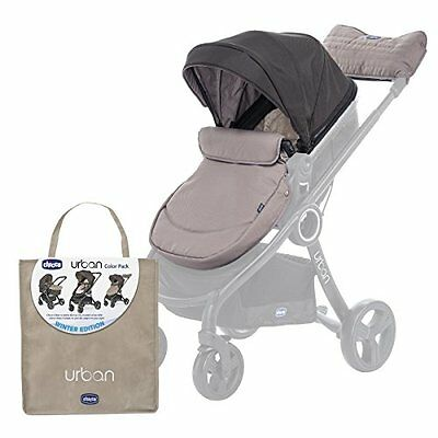 Chicco 79337 Colour Pack Urban Stroller Kit Passeggino, Beige/Nero (Winter Day)