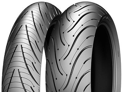 Motorcycle Tyre MICHELIN PILOT ROAD 3 120/70/ZR17 & 180/55/ZR17 NEW Pair Deal