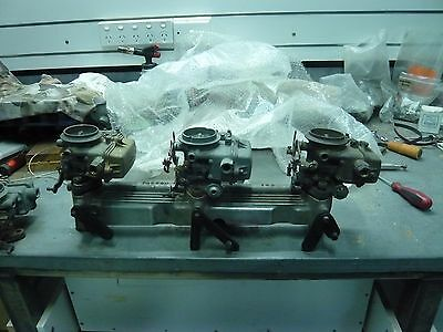 ford 6 cylinder triple carb manifold