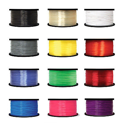 3D Printer Filament PLA 1.75mm - 1Kg- 7 Colours - Makerbot, Leapfrog - UK Stock