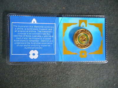 2017 $2 Anzac Lest We Forget Coin in card unc