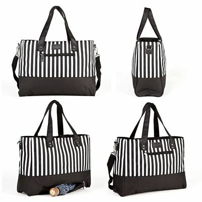 New City Tote Baby Changing Bag Changing Mat Buggy Pram Clips Insulated Holder