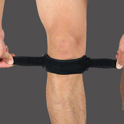 Patella Tendon Brace Knee Gym Sports Support Strap Belt Pain Relief Guard Safety