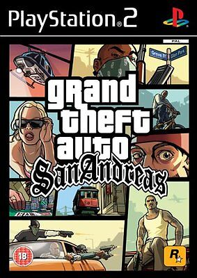 Grand Theft Auto (GTA): San Andreas - Playstation 2 (PS2) - UK/PAL