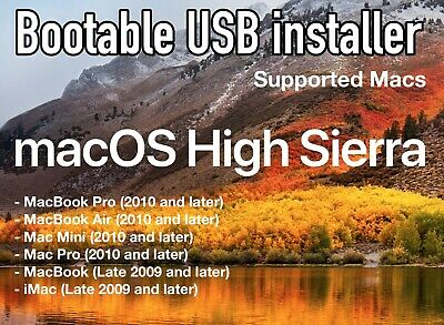 Mac Os X Yosemite 10.10.5 - Bootable 16 GB USB Recovery-Upgrade-Fresh Install