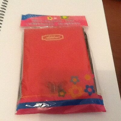 Soft Cover   Red Address Book With Pen Brand New In Packet