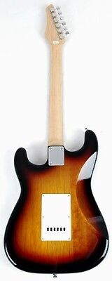 SX RST 3/4 3TS Short Scale Sunburst Guitar Package with Amp, Carry Bag and Instr