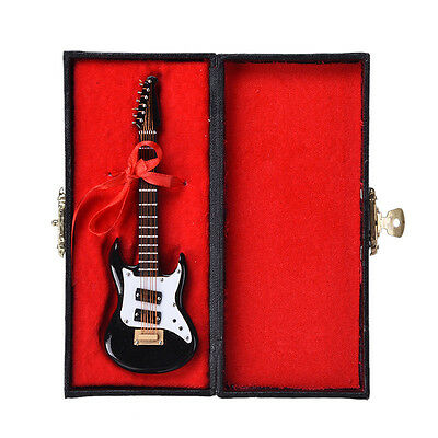 Musicial Ornament Decor Gift Craft Mini Guitar Model UK New Hot Miniature Guitar