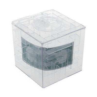 New MONEY MAZE COIN BOX PUZZLE GIFT PRIZE SAVING BANK  WW