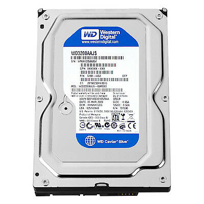 WESTERN DIGITAL WD3200AAJS Caviar Blue 320GB 7200rpm SATA 8MB 3.5 inch Hard