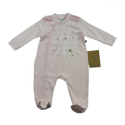 Baby Girl Size 0000 Just Hatched Made with Love Romper Newborn