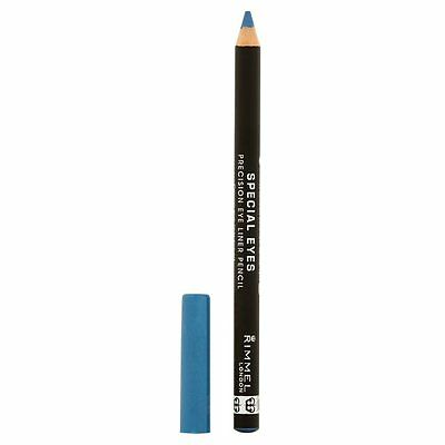 Rimmel Special Eyes Precision Blue Eyeliner Pencil Azure Shimmer 121 Brand New