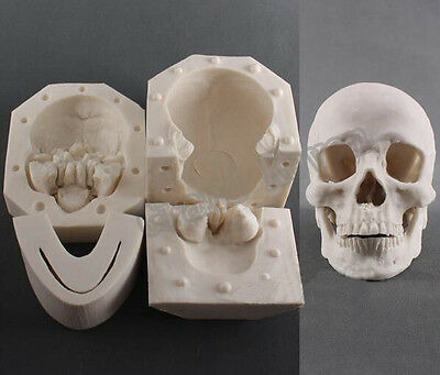 Silicone Resin Skull Mould Silicone Chocolate Skull Mold Silicone Skull Plaster