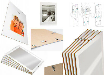 Clip Frames Picture Photo Poster Certificates Prints Frames Many Sizes Frameless