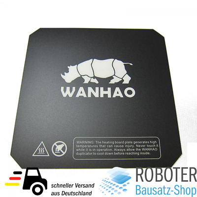 Wanhao Druckmatte Build Surface Buildtak 220x220 Duplicator i3 / i3 Plus / D6